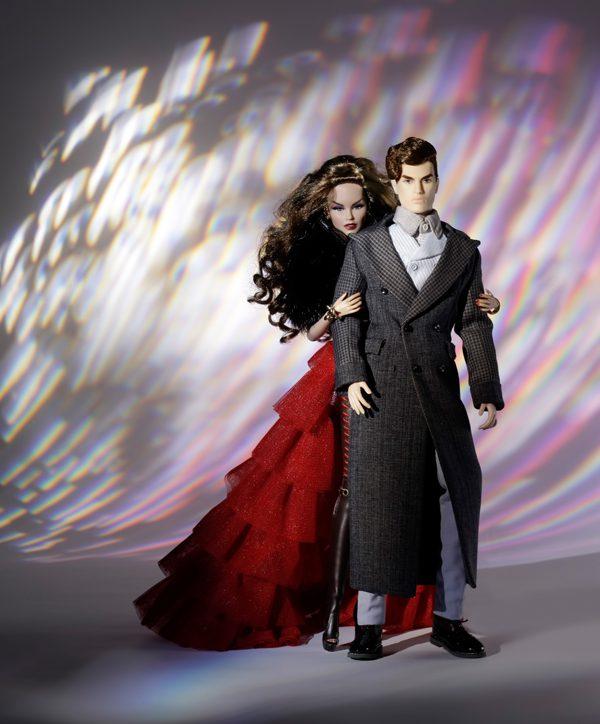 Beauty 2 Fashion: Nu.Fantasy Beauty And The Beast Dressed 2-Doll Set